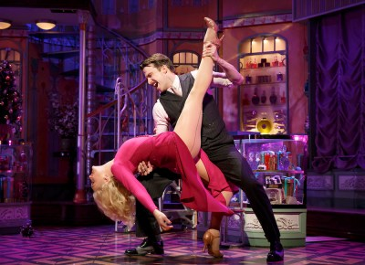 Gavin Creel and Jane Krakowski in She Loves Me