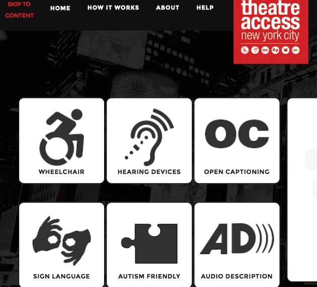 Theatreaccesssite