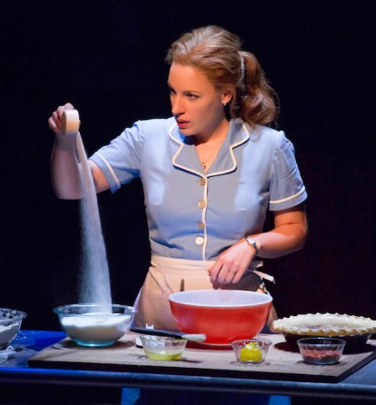 Jessie Mueller as Jenna in WAITRESS,