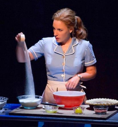 Jessie Mueller as Jenna in WAITRESS,