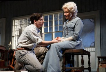 John Gallagher Jr. and Jessica Lange