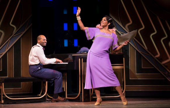 Brandon Victor Dixon and Audra McDonald in Shuffle Along, or The Making of the Musical Sensation of 1921 and All That Followed,
