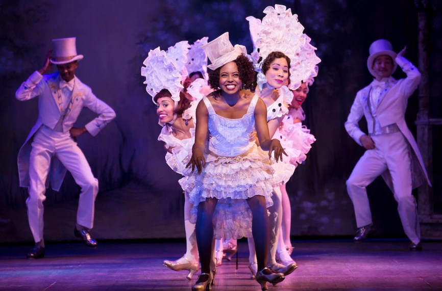"""Adrienne Warren and company perform """"I'm Just Wild About Harry"""" in Shuffle Along,"""