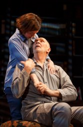 Frank Langella with Hannah Cabell