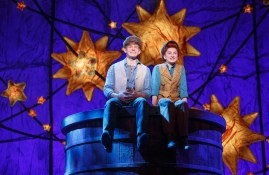 Andrew Keenan-Bolger and Sarah Chalres Lewis