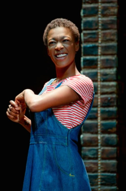 Samira Wiley as a girl...