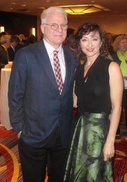 Steve Martin and Carmen Cusack,Bright Star photograph by Jonathan Mandell