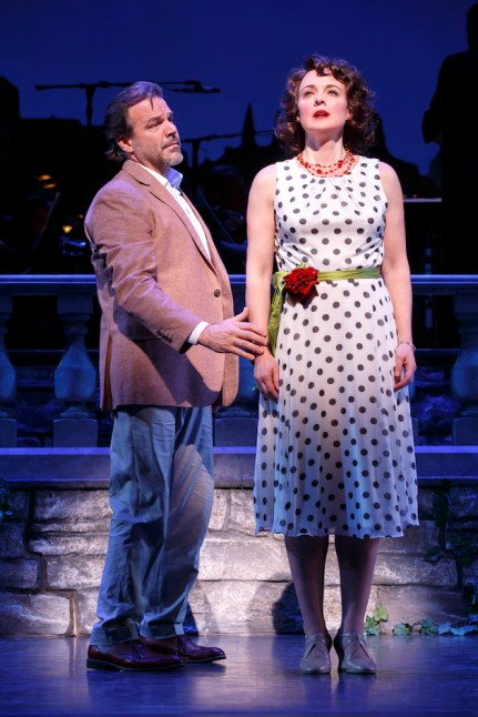 Melissa Errico and Richard Troxell
