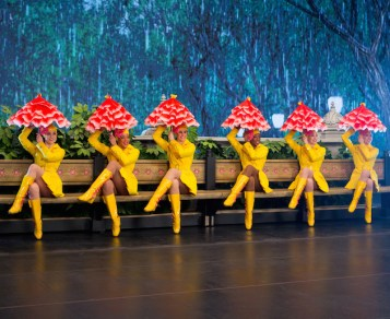New York Spectacular, a new summer show at Radio City Music Hall that features the Rockettes, who memorably performed Singin in the Rain...in the rain.