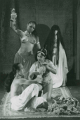 The 3 Travels of Aladin with the Magic Lamp, 1982. Francoise Grund Khaznadar (playwright) Elizabeth Swados (music)