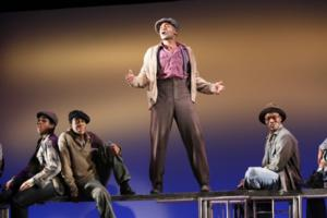 Brandon Victor Dixon in The Scottsboro Boys Off-Broadway