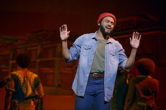 Motown 4 Jarran Muse as Marvin Gaye