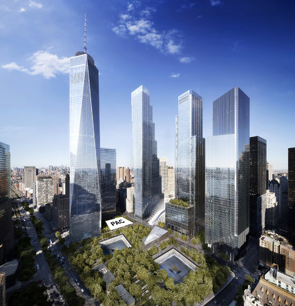 World Trade Center Performing Arts Center rendering