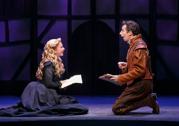 Catherine Brunell and Josh Grisetti