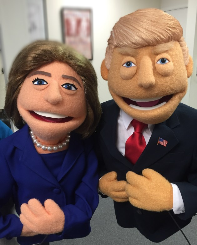 hillary-clinton-and-donald-trump-puppets-designed-by-rick-lyon