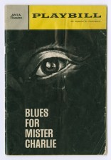 Program in 1964 for Blues for Mr. Charlie, a play by James Baldwin
