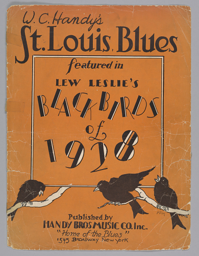 Sheet music for St. Louis Blues by W.C. Handy, 1928