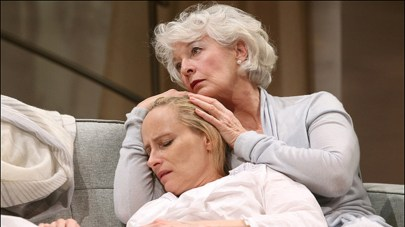 Laila Robins and Jane Alexander in The Lady from Dubuque at the Signature in 2012