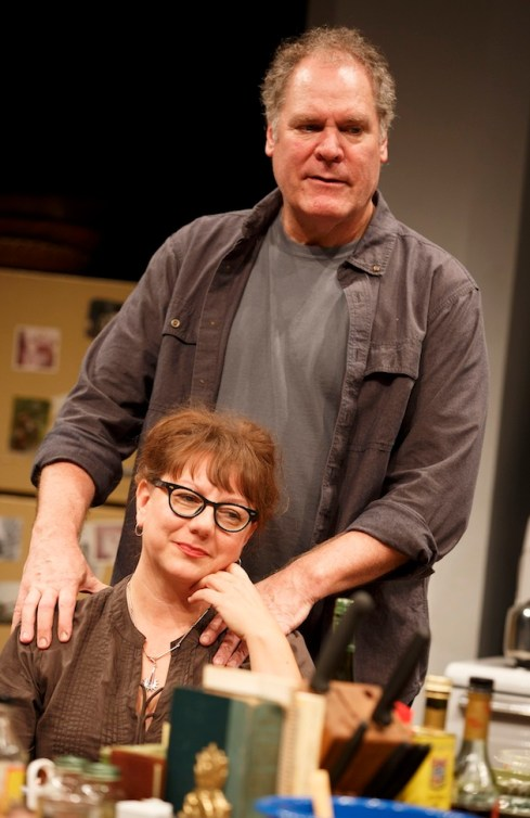Amy Warren and Jay O. Sanders as sister and brother in What Did You Expect?,