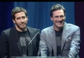 Jake Gyllenhaal and Jon Hamm