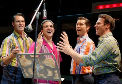Jersey Boys Drew Seeley Nick Dromard Matt Bogart Mark Ballas