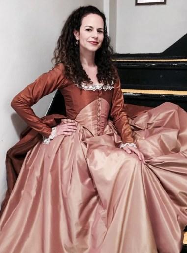 Mandy Gonzalez as Angelica Schuyler in Hamilton
