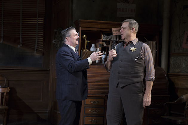 Nathan Lane and John Goodman