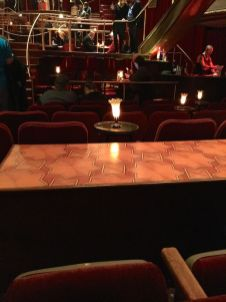 """View of one of the many """"stages"""" onto which the ensemble perform"""