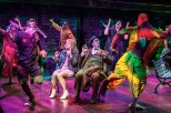 Sutton Foster, Shuler Hensley and cast i