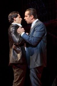 Bobby Conte Thornton as Calogero and Nick Cordero as Sonny