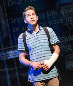 Ben Platt, the original Evan Hansen