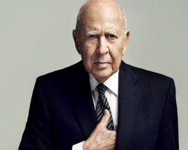 Carl Reiner, 95, veteran of seven Broadway shows.