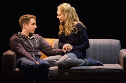 Ben Platt and Rachel Bay Jones as Evan's mother