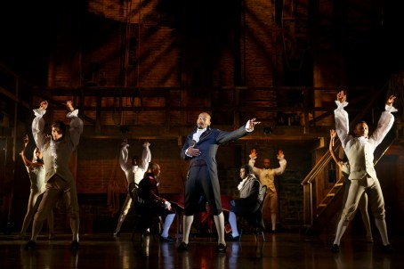 Brandon Victor Dixon and cast