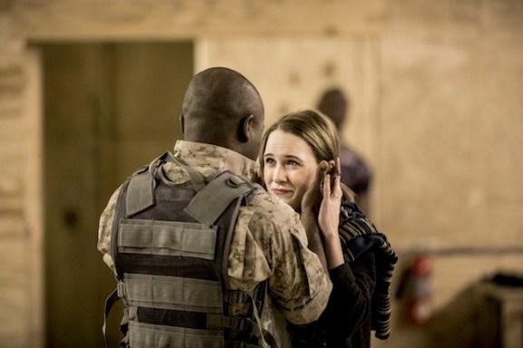 David Oyelowo as Othello and Rachel Brosnahan as Desdemona