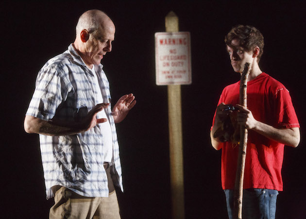 Mark Blum and Ethan Dubin