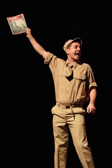 Blueprint specials review world war ii soldier musicals quinn mattfeld as sad sack malvernweather Gallery