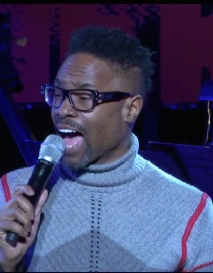 Billy Porter sang: Bless my Homeland forever