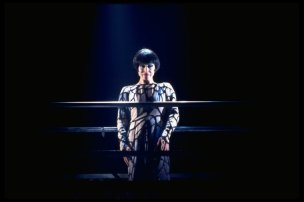 "Chita Rivera in a scene from the Broadway production of the musical ""Kiss Of The Spiderwoman"". 1993"