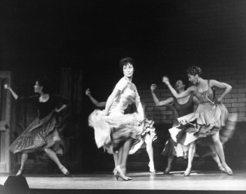Chita Rivera in the Broadway musical West Side Story
