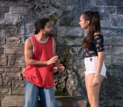 Sean Carvajal as Palito and Analisa Velez as Tati.