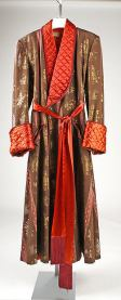 1954 dressing gown from Brooks Costume Company