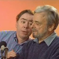 Andrew Lloyd Webber and Stephen Sondheim