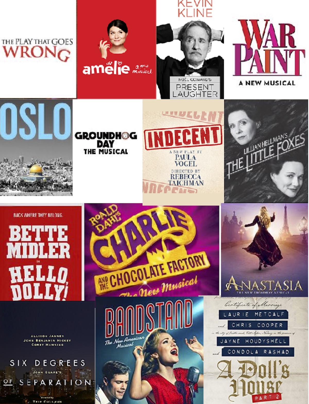 Broadway Fall Preview: Broadway's April Avalanche. Critics' Musical Chairs. Week