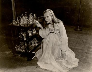 Julie Haydon as Laura in The Glass Menagerie, opened March 31, 1945. Its eighth Broadway production opened March 9, 2017.