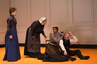 Laurie Metcal, Jayne Houdyshell, Condola Rashad, Chris Cooper in A Doll's House, Part 2