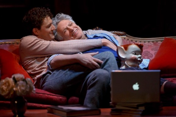 Gabriel Ebert and Harvey Fierstein