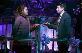 Barrett Doss and Andy Karl