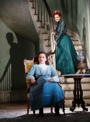 , Francesca Carpanini as Alexandra, and Laura Linney as her mother Regina.