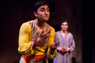 8 NIKHIL SABOO, TROY IWATA in THE BOY WHO DANCED ON AIR. Photography by Maria Baranova